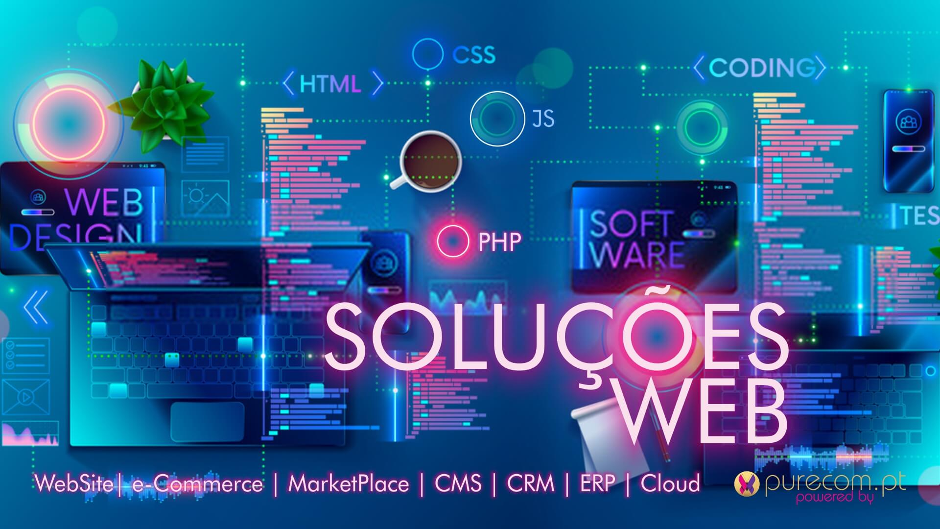 #WebSites #e-Commerce #MarketPlace #CMS #CRM #ERP #Cloud